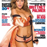 'PLAYBOY MARCH 2012 COVERGIRL' BRITTNEY PALMER (VIDEO)